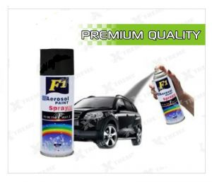 Car Auto Multi Purpose Lacquer Spray Paint Black