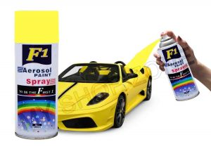 Car Auto Multi Purpose Lacquer Spray Paint Yllowe