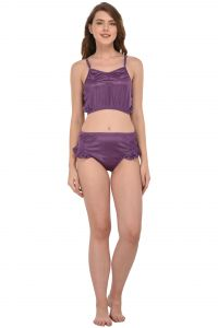You Forever Purple Lingerie Set (code - Yf-frlbp-ppl)