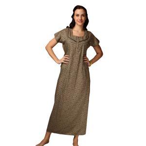 De'Moda Women's Floral Nightgown (Code - DM16981-1-DM)