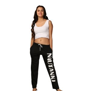 Pyjamas & lounge pants - De'moda Women's Black Pajama (Code - DM9704-1-DM)