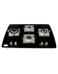 Gas stove & induction cookers - MEGLIO Glass Black Hobs _ EROSSSP_750