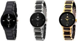 Women's Watches   Round Dial   Metal Belt   Analog - NEW IIK Collection IIKCMBO0002 IIK Collections Analog Watch - For Women
