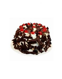 Gifts Valley 1kg Five Star Black Forest Cake Gift Items