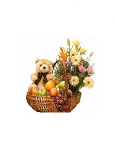 Gifts Valley Fit Well Healthy Basket Gift Items