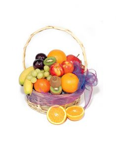 Gifts Valley Caribbean Fruit Basket Gift Items