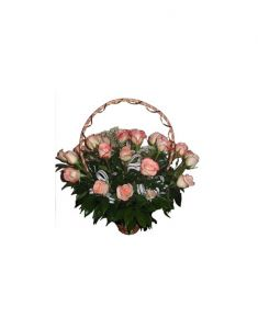 Gifts Valley Rose Basket Of 25 Roses Gift Items