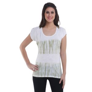 36c333326b5 Printed White Tops  Buy printed white tops Online at Best Price in ...