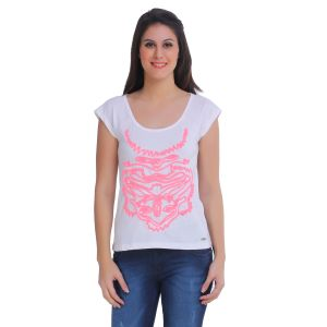 4caa229806e Solid White Tops - Buy Solid White Tops Online   Best Price in India