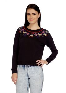 e5969439f4710 Black Tops Cotton - Buy Black Tops Cotton Online   Best Price in India