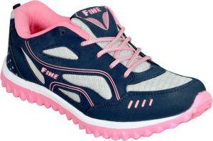 Footwear - Jollify Fine Womens Sports shoes(fine2101pink)