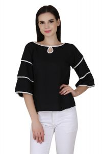 Jollify Black Colour Fashionable Women