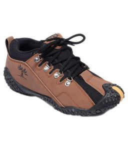 Jollify Brown Out-door Casual Shoes For Men