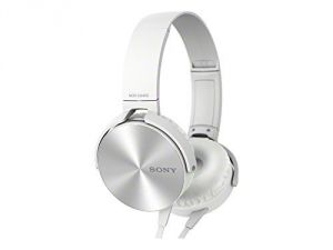 Panasonic,Quantum,Vox,Fly,Sony Mobile Phones, Tablets - Sony Mdr-xb450 Extra Bass Smartphone Heatset (white)-oem