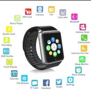Others smart watches - Sicario Moda Ap01 Black Smart Watch