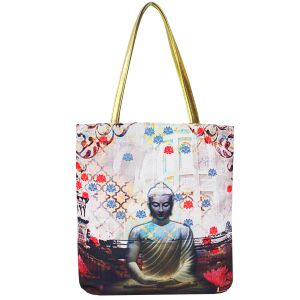 Divine Buddha Canvas Travel Tote Bags