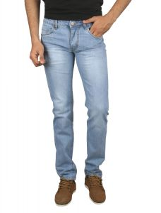 Jevaraz Men Cotton Blue Jeans Jvrz102032