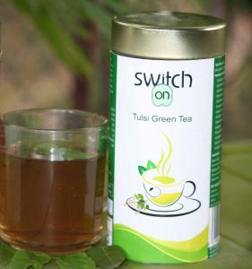 Green Tea - SWITCH ON TULSI GREEN TEA