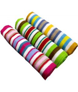 Milap Multicolor Cotton Bath Towel Set Of 3