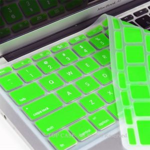 "Spider Designs Mac Book Pro 13"" Key Pad Skin Green"