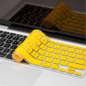 "Spider Designs Mac Book Pro 13"" Key Pad Skin Yellow"