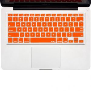 "Spider Designs Mac Book Pro 15"" Key Pad Skin Orange"