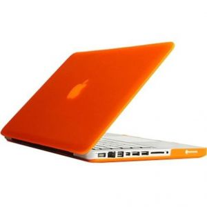 "Spider Designs Laptop Decals For Mac Book Pro 13"" Orange"