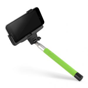Spider Designs Selfie Stick (wireless Bluetooth ) Green