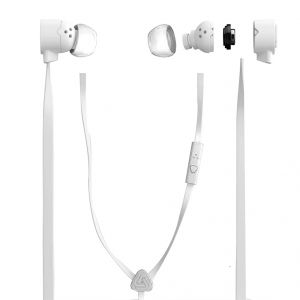 Spider Designs Funk Earphone With Mic White