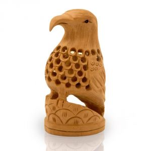 Vivan Creation Carved Handcrafted Wooden Eagle Home Decor -150