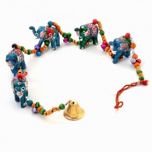 Vivan Creation Rajasthani Elephant Door Hanging Handicraft -188