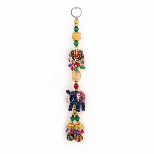 Vivan Creation Decorative Elephant Design Wall N Car Hanging 358