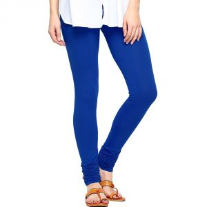 Vivan Creation Women Stylish Royal Blue Color Comfortable Cotton Churidaar Leggings (product Code - Dli5lch219)