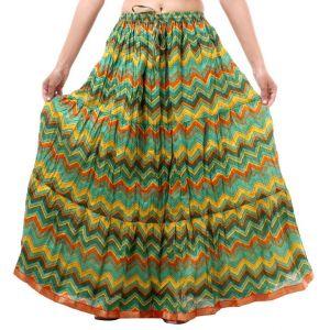 dadfbfa2a Vivan Creation Shree Mangalam Mart Multicolor Printed Skirt Free Size  (product Code - Smskt640)