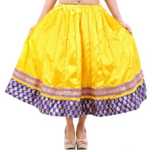 Vivan Creation Shree Mangalam Mart Designer Satin Short Lehenga Free Size (product Code - Smskt748)
