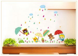 Decals Arts Diy Cartoon Wall Stickers Home Decals