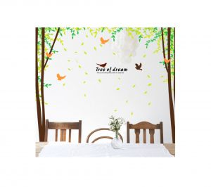 Decals Arts Beautiful Tree Wall Sticker For Home , Office Dcor