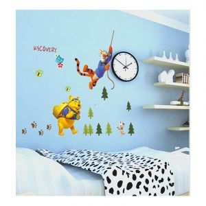 Wall stickers & decals - Decals Arts Bear Adventure Wall Sticker