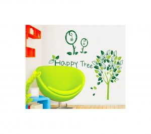 Decals Arts Happy Tree Wall Sticker For Home Kids Room Dcor