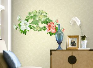 Decals Arts Most Beautiful Flower Bloom Wall Sticker