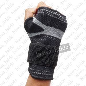 Sports Accessories - Yechun Fitness Training Safety Hand Bands Weight Lifting Sports Wristband Gym Wrist Thumb Support Straps Wraps Bandage -02