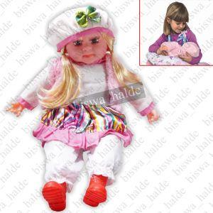 Soft Toys - 52cm Singing Doll Girl Baby Love Gift Soft Toy Toys Kids Child Trendy Dresses-09