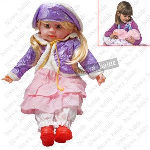 Soft Toys - 52cm Singing Doll Girl Baby Love Gift Soft Toy Toys Kids Child Trendy Dresses -07