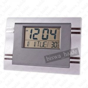 Exclusive Antique Digital Gift Table Clock Wall Clock Desk Self Temperture Format Alarm Clock