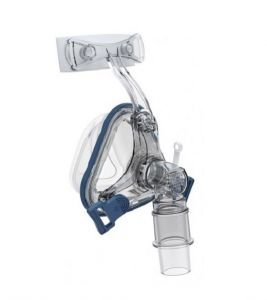 Bmc Polysilicon Nasal Mask With Headgear, Medium