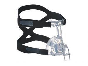 Hoffrichter Cpap Nasal Mask With Headgear Fully Silicon, Small