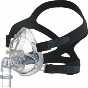 Medical and hospital supplies - Hoffrichter BIPAP Full Face Mask With Headgear Fully Silicon, Small
