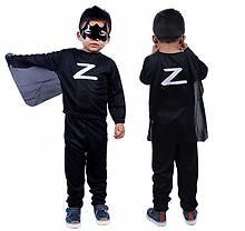 Zorro Small Costume Fancy Dress Suit With Eye Mask For Kids-3-5yr