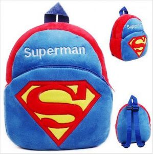 Kuhu Creations Superman Style Kids Bag Cute Item To Gift