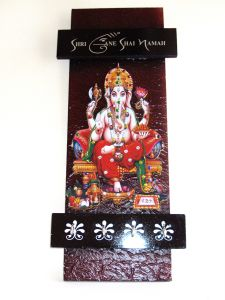Decorative Key Holder With God Photo - Shree Ganesh 115